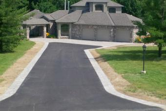 New residential pave driveway.